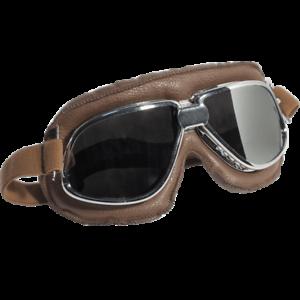 Occhiali-Da-Casco-Moto-Scooter-Vespa-CGM-705V-Oldstyle-Silver-Lente-Specchiata