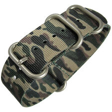 22mm Hadley-Roma MS4200 Camo UTC Nylon MoD G10 Military Watch Strap Camouflage