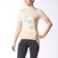 Adidas By Stella Mccartney Women's Designer Short Sleeved Cycling Jersey