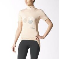 Adidas By Stella Mccartney Women's Designer Short Sleeved Cycling Jersey