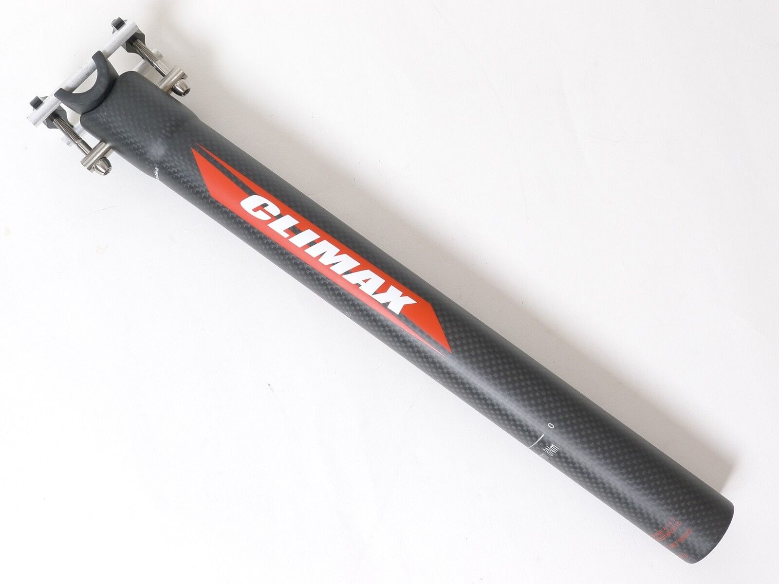 Mr-ride 145g,34 .9x350mm Climax SP02C 3K Matt Cochebono tija Ti Perno Bicicleta Negro