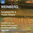 Weinberg: Symphony No. 8 'Polish Flowers' (CD, Jan-2013, Naxos (Distributor))