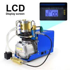 30mpa Digital Lcd High Pressure Air Compressor Airgun Pcp Air Pump Auto Stop New