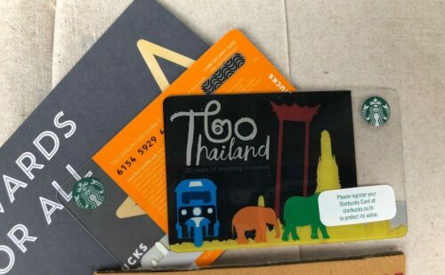 Starbucks CARD 2018 Thailand sleeve 20th years of Inspiring Moments 4th style