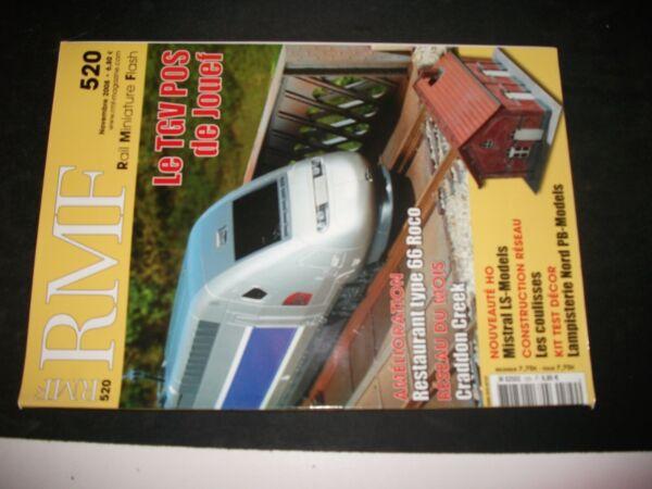 **ch Revue Rmf N°520 Tgv Pos / Craddon Creek / Mistral 56 Ls Models