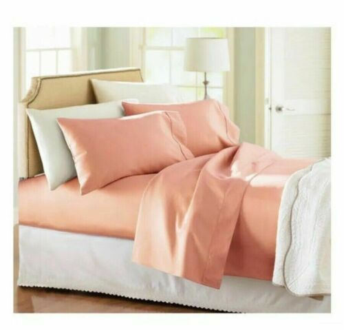 Better Homes 300 Thread count Coral sheet set W// Pillow case Twin or Full
