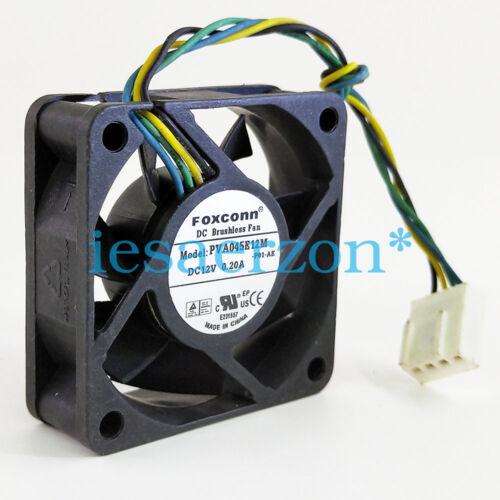 for FOXCONN cooling fan 4515 PVA045E12M-P01-AE DC12V 0.20A 4-wire