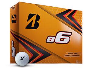 Bridgestone-e6-Golf-Balls-1-Dozen-White-Mens