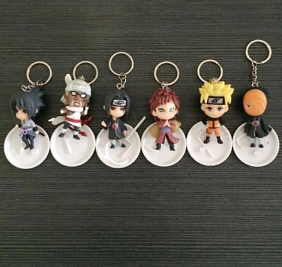 Keychain Free Shipping within Australia Naruto Sasuke Action Figure Keyring