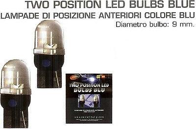LAMPADE LUCI DI POSIZIONE COLORE BLU per AUTO TUNING!!!
