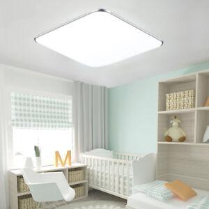 Details zu 36W LED Deckenleuchte Kaltweiß Deckenlampe Wohnzimmer Ultraslim  Panellampe Küche