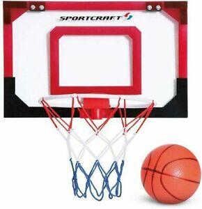 Sportcraft-Super-Slam-Mini-Basketball-Hoop-Set-Ball-amp-Pump-FREE-UK-SHIPPING