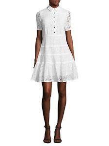 Draper-James-Meadow-Lace-ShirtDress-0-2-10-12-14-Willow-White-NWT-250