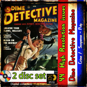 Dime-Detective-Magazine-collection-crime-mystery-murder-and-stories