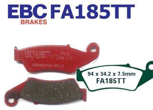 EBC plaquette de frein plaquettes de frein fa185tt avant honda xr 650 ry//r1-r7 00-07