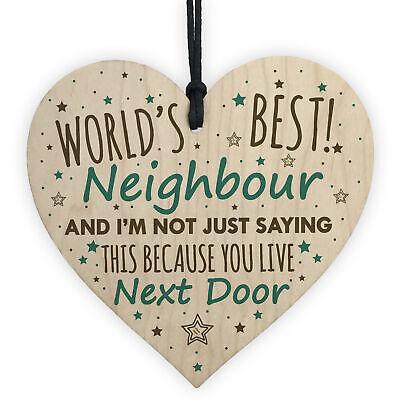 Handmade Personalised Neighbours Like You Wooden Keepsake Gift Plaque