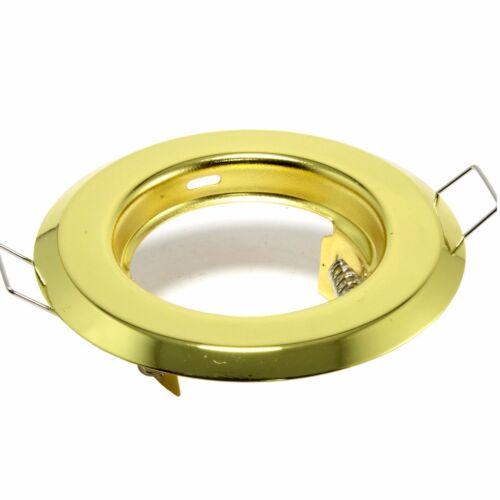 Einbauleuchte m MR16 Spot Deckenleuchte Einbaurahmen Einbau Set LED GU10 o