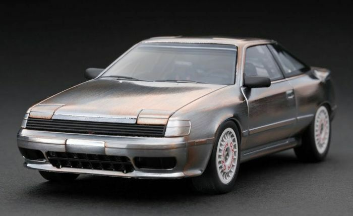 TOYOTA gt4 4x4 CELICA 4wd RALLY METAL POLISH MODEL HPI 1:43