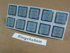 6th Generation - Skylake 10X Intel CORE i3 inside Sticker 18mm x 18mm