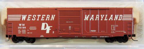 NEW ATLAS N SCALE WESTERN MARYLAND PRECISION DESIGN 50/' BOXCAR