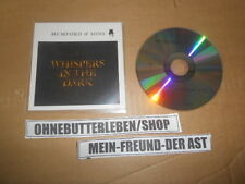 CD Indie Mumford & Sons - Whispers In The Dark (1 Song) Promo UNIVERSAL