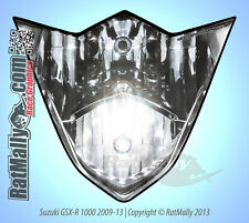 WSB STYLE HEADLIGHT STICKERS - SUZUKI GSX-R1000 2009-2013 - RACE TRACK GRAPHICS