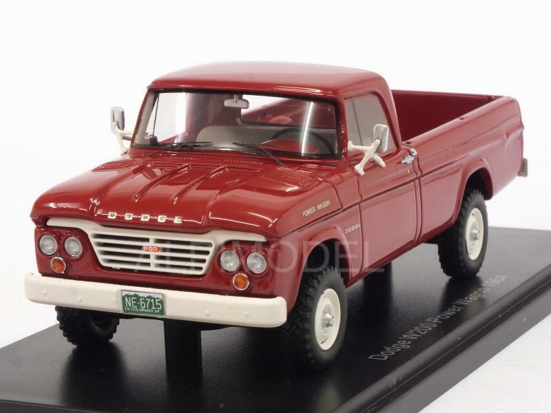Dodge W Power Wagon 1964 rojo 1 43 NEO 46715