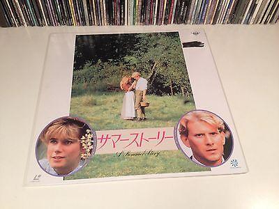 A Summer Story Rare Japan Laserdisc British Drama 1988 John Galsworthy Story OOP