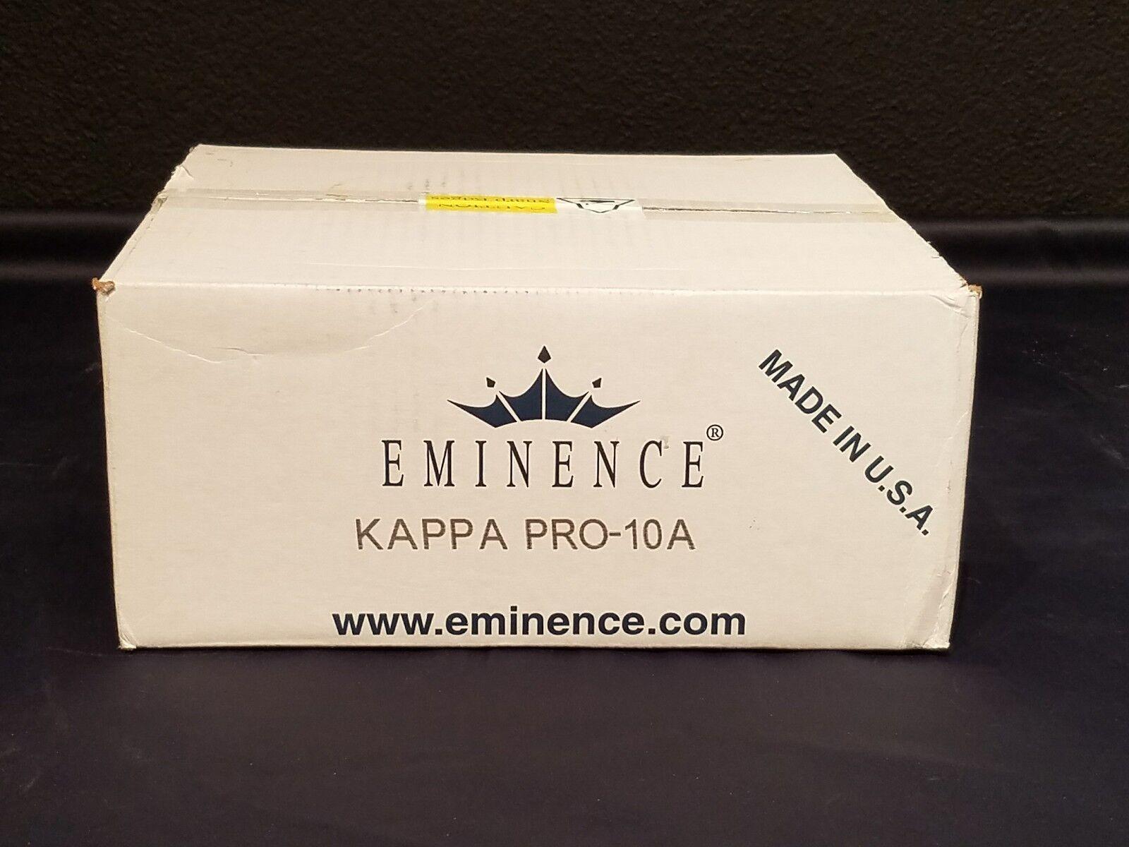 Eminence Kappa Pro 10A Woofer Garage Sale