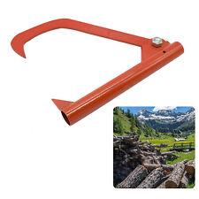 Practical Log Cant Hook Steel Durable Log Peavy Patio Roller Tool Felling Lever