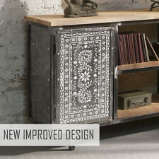 Indian Inlay Stencils JAIPUR Furniture Floor Wall Stencil - Pack of 7 Stencils