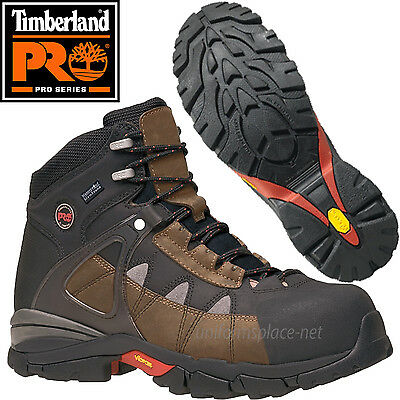 Timberland PRO Work Boots Mens Hyperion Alloy Safety Toe Leather Boots 90646