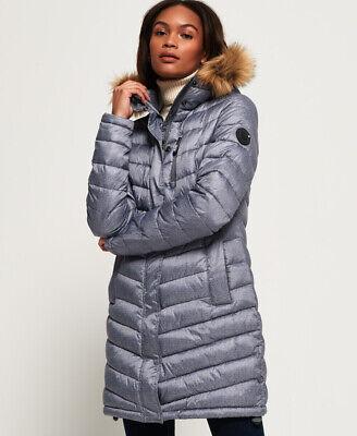 Superdry Womens Chevron Faux Fur Super Fuji Jacket | eBay