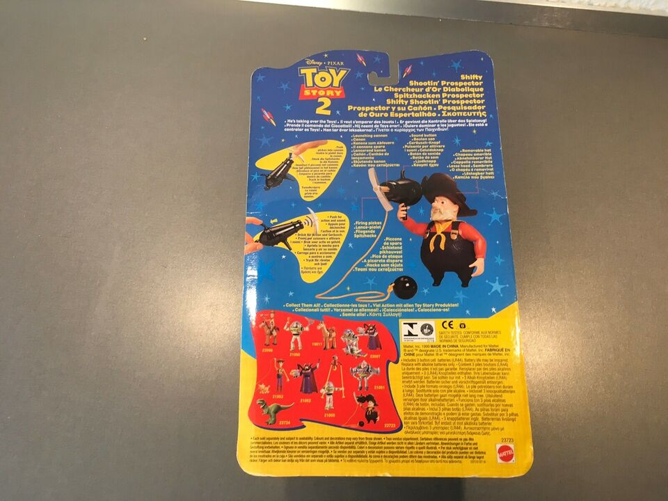 Toystory 2 guldgraver, Disney pixar