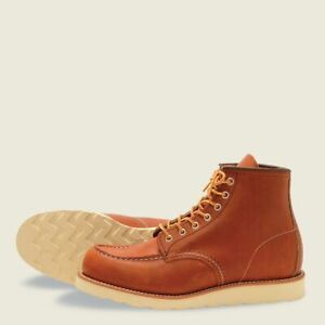 Red Wing Classic Moc Brown size 6.5