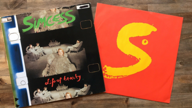 EP, Simcess, Life Of Beauty, Cover pænt. Vinyl…