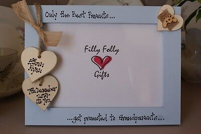 Personalised Photo Frame by Filly Folly 7x5/'/'! Vintage Wedding Gift
