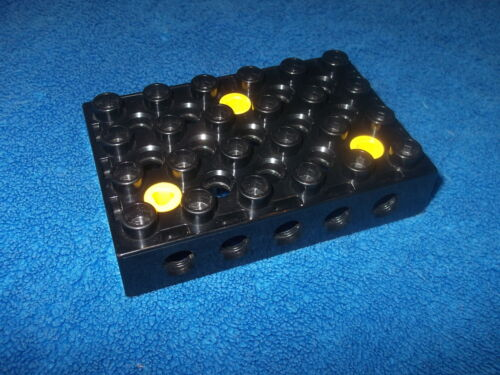 Lego Duplo Toolo Platte Bauplatte schwarz 4 x 6 Verbindung Halterung 31345 45002
