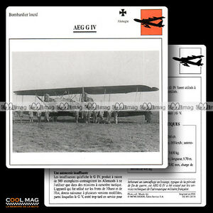 024-16-AEG-IV-G4-Biplan-Fiche-Avion-Airplane-Card