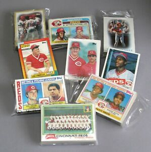 REDS-TEAM-SETS-W-TRADED-1981-1990-TOPPS-BASEBALL-CHOICE-U-PICK-SET-BREAKS
