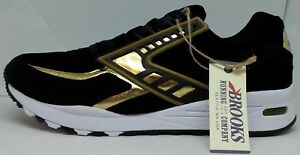 M ~~ Laufschuhe schwarz gold ~~ Brooks Chrome ~~ für 10 regent 125 Herren ~~ ~~ xaqxRBO4