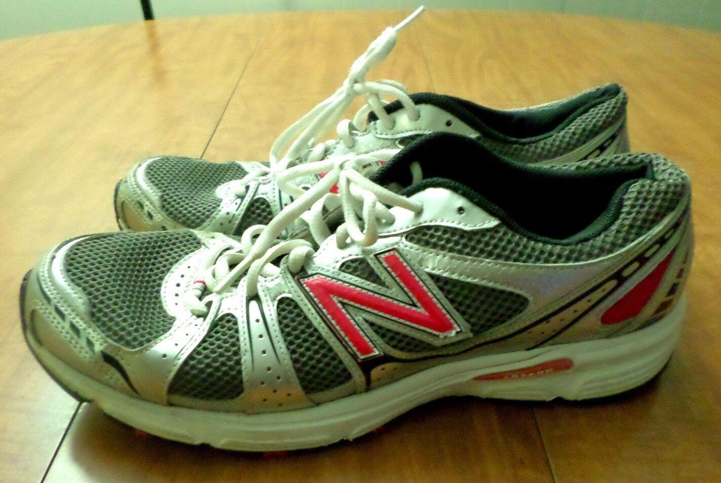 NEW BALANCE women's size 11 tennis shoes running 480 pink & white