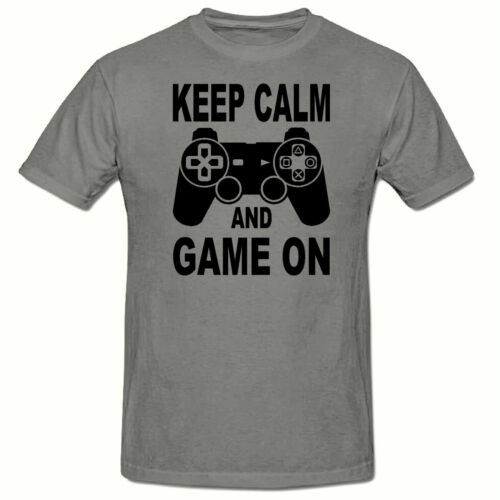 GAME ON PLAYSTATION CONTROLLER CHILDRENS T SHIRT,KIDS T SHIRT 3-15 YEARS