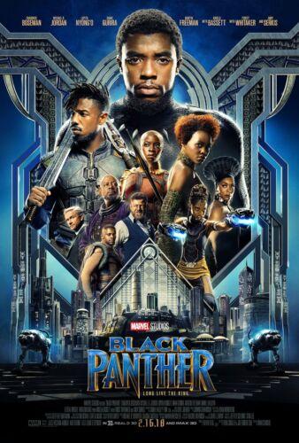 24x36 - Chadwick Boseman Lupita Nyong/'o Gurira v3 Black Panther Movie Poster