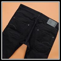 G-STAR RAW RADAR TAPERED 51006.4412 BLACK STRETCHY MEN'S JEAN DENIM  W36 L34