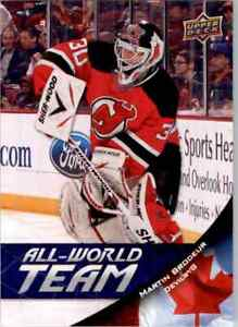 2011-12 Upper Deck All World Team Martin Brodeur #AW19