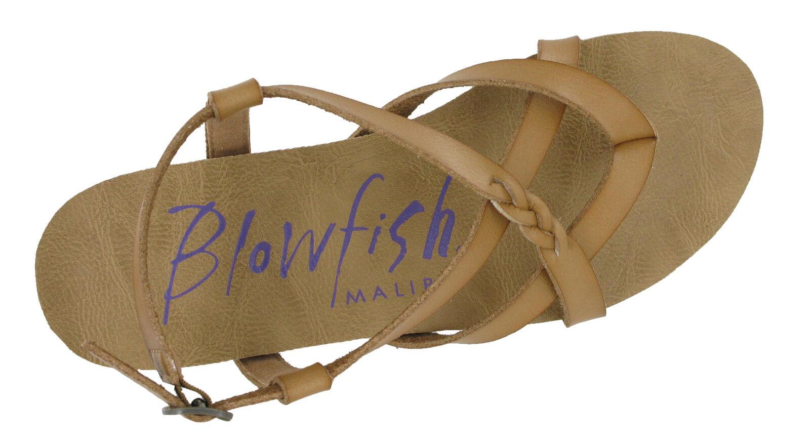 Blowfish Granola Flache offener Damen offener Flache ZEHENBEREICH Mode Sandalen mit Schnalle 156341