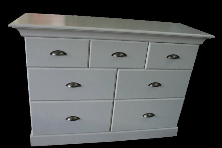 *MAIDSTONE FURNITURE* CHEST OF DRAWERS SIDE-BY-SIDE 94cmH x 134cmW x 49cmD