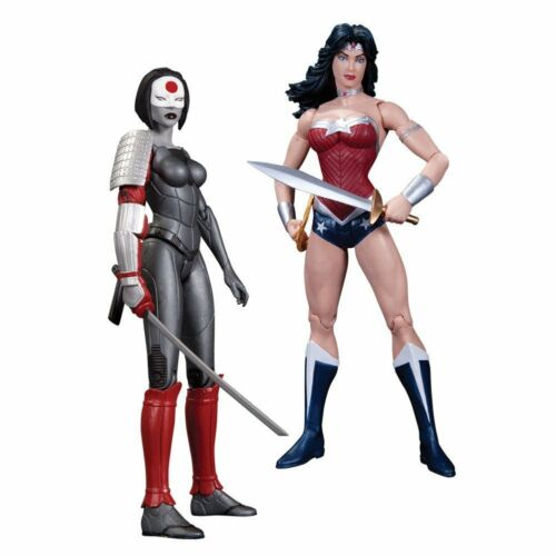 The New 52 Justice League Wonder Woman vs Katana Action Figure 2 Pack DC Comic