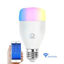 9W LED RGB Bulb Light  Bluetooth WiFi Wireless Control Smart Music Audio Lamp